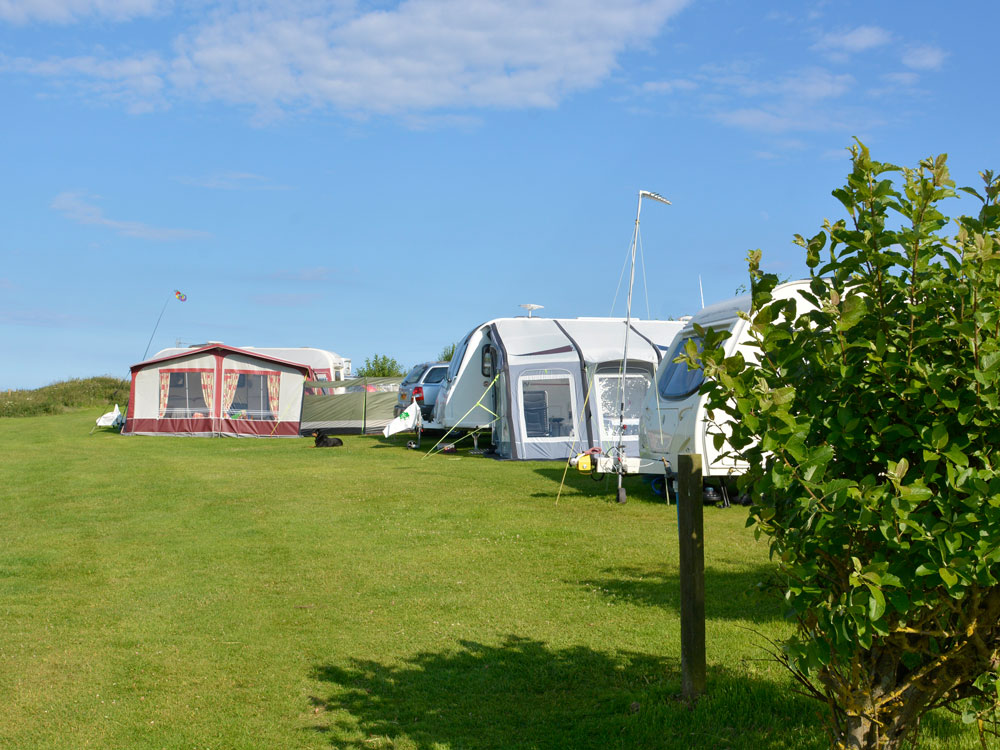Caravans with Awning / Porch
