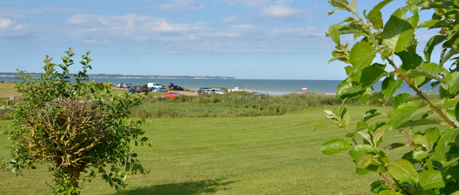 View from Caravan Site
